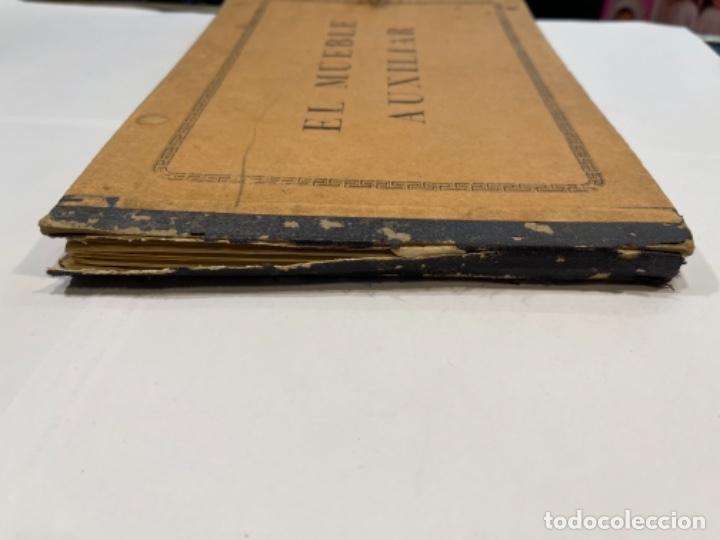 Libros de segunda mano: EL MUEBLE AUXILIAR LIBRO CATÁLOGO COMPLETO CON LAS 25 LÁMINAS MED.: 31X21 CMS. (T1) - Foto 11 - 236552025