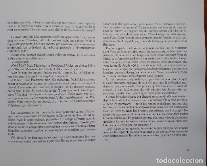 Libros de segunda mano: SOUVENIRS DE BRETAGNE. Photographies de Charles LHERMITTE 1911-1913. - Foto 3 - 236773660