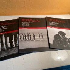 Libros de segunda mano: MAESTROS DE LA FOTOGRAFÍA. Lote 236874755