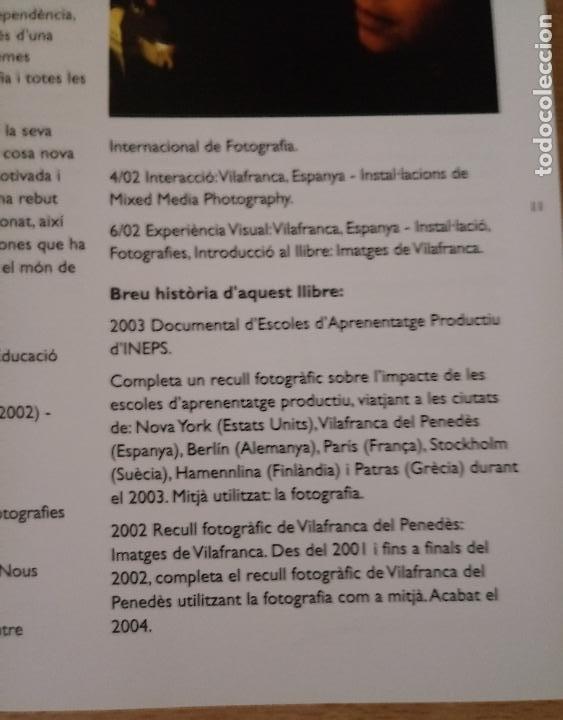 Libros de segunda mano: IMATGES DE VILAFRANCA PENEDÈS - MELISSA SANFIORENZO - 2004 - CATALÀ - ENGLISH - Foto 3 - 236913475