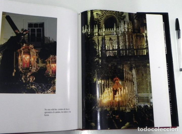 Libros de segunda mano: SEVILLA TEMPLO DE LUZ - LIBRO RAMÓN LEÓN FOTOGRAFÍAS - LA SEMANA SANTA FOTOS ARTE RELIGIÓN CRISTIANA - Foto 4 - 237532780