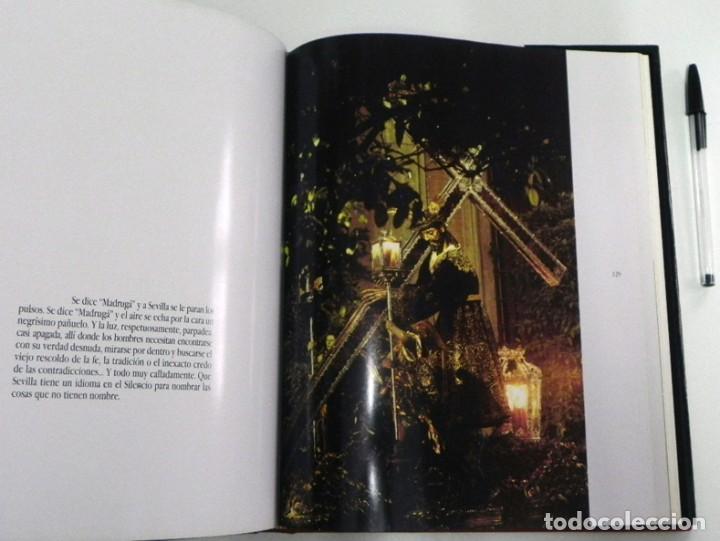 Libros de segunda mano: SEVILLA TEMPLO DE LUZ - LIBRO RAMÓN LEÓN FOTOGRAFÍAS - LA SEMANA SANTA FOTOS ARTE RELIGIÓN CRISTIANA - Foto 7 - 237532780