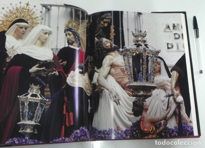 Libros de segunda mano: SEVILLA TEMPLO DE LUZ - LIBRO RAMÓN LEÓN FOTOGRAFÍAS - LA SEMANA SANTA FOTOS ARTE RELIGIÓN CRISTIANA - Foto 8 - 237532780