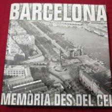 Libros de segunda mano: MANEL GUARDIA - BARCELONA, MEMORIA DES DEL CEL. Lote 237590145