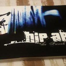 Libros de segunda mano: HIP ART. LIBRO FOTOGRAFÍA DE ARTE URBANO Y GRAFITTI. COLOR. 163 PAG.. Lote 239476485