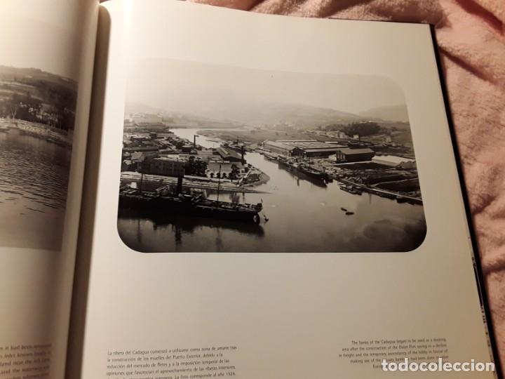 Libros de segunda mano: Puerto de bilbao (Una memoria visual), de Ramon esparza. Magnifico estado. Lunwerg 2002. Gran format - Foto 3 - 239611045