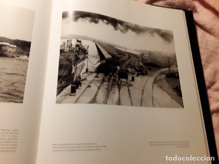 Libros de segunda mano: Puerto de bilbao (Una memoria visual), de Ramon esparza. Magnifico estado. Lunwerg 2002. Gran format - Foto 5 - 239611045
