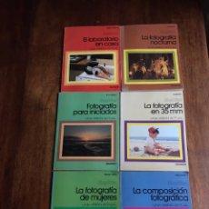 Libros de segunda mano: LOTE DE 6 LIBROS FOTOGRAFÍA DAIMON 1976. Lote 241276955