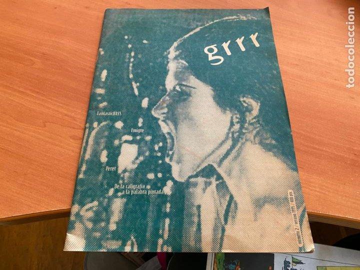 GRRR Nº 2 AÑO 1995 REVISTA DISEÑO GRAFICO EN CATALAN ) (LB50) (Libros de Segunda Mano - Bellas artes, ocio y coleccionismo - Diseño y Fotografía)