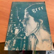 Libros de segunda mano: GRRR Nº 2 AÑO 1995 REVISTA DISEÑO GRAFICO EN CATALAN ) (LB50). Lote 243244795