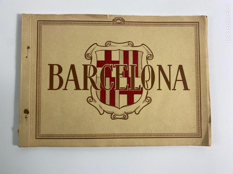 PR-2266. BARCELONA, CUADERNO CON FOTOGRAFIAS DE LA CIUDAD.SANPONS-ZERKOWITZ. (Libros de Segunda Mano - Bellas artes, ocio y coleccionismo - Diseño y Fotografía)