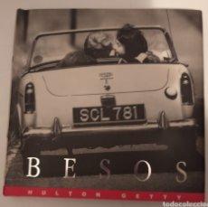 Libros de segunda mano: BESOS- HULTON GETTY. Lote 244451450