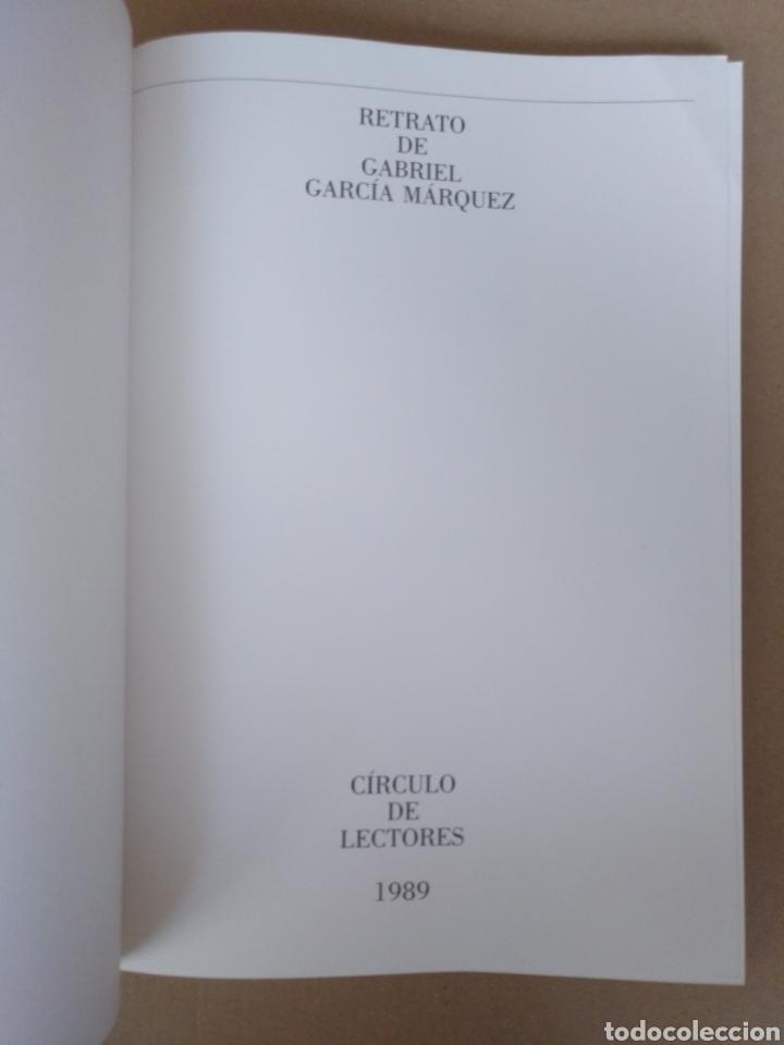 Libros de segunda mano: Retrato de Gabriel García Márquez. Juan Luis Cebrián. Galería de grandes contemporáneos. Libro - Foto 2 - 244712800