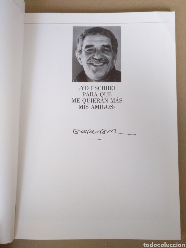 Libros de segunda mano: Retrato de Gabriel García Márquez. Juan Luis Cebrián. Galería de grandes contemporáneos. Libro - Foto 3 - 244712800