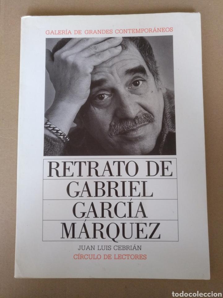 RETRATO DE GABRIEL GARCÍA MÁRQUEZ. JUAN LUIS CEBRIÁN. GALERÍA DE GRANDES CONTEMPORÁNEOS. LIBRO (Libros de Segunda Mano - Bellas artes, ocio y coleccionismo - Diseño y Fotografía)
