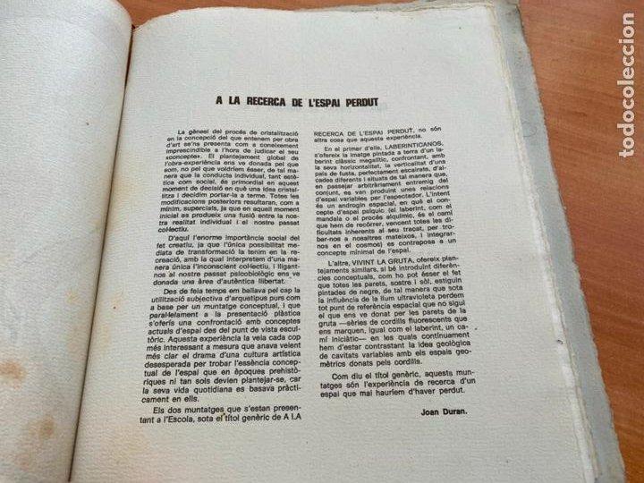 Libros de segunda mano: TASCO ESCOLA TALLER COMUNICACIO 3. EDICION LIMITADA 250 EJEMPLARES REUS 1981 (AB-3) - Foto 6 - 244721170