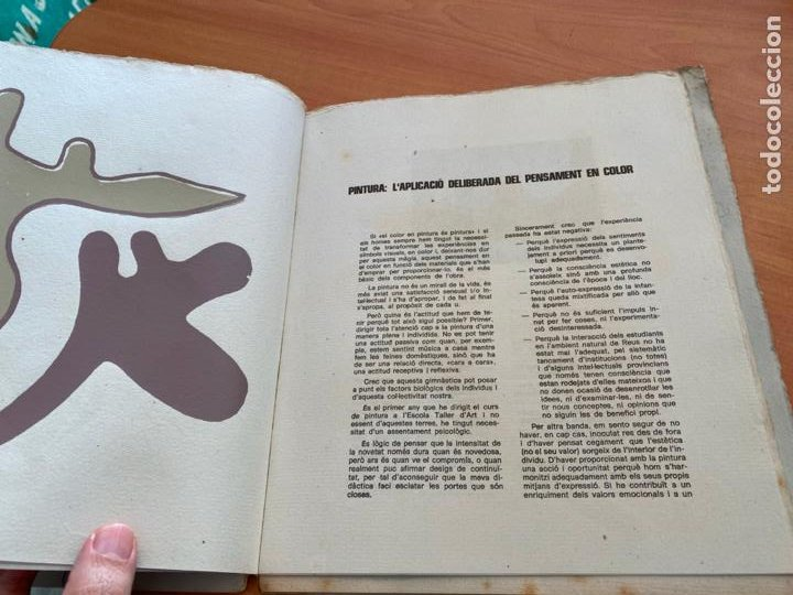 Libros de segunda mano: TASCO ESCOLA TALLER COMUNICACIO 3. EDICION LIMITADA 250 EJEMPLARES REUS 1981 (AB-3) - Foto 8 - 244721170