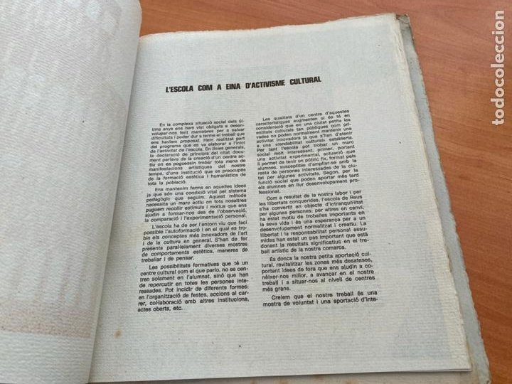 Libros de segunda mano: TASCO ESCOLA TALLER COMUNICACIO 3. EDICION LIMITADA 250 EJEMPLARES REUS 1981 (AB-3) - Foto 10 - 244721170