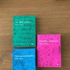 Livres d'occasion: COLECCION PETER JENNY. LA MIRADA CREATIVA. TÉCNICAS DE DIBUJO. DIBUJO ANATÓMICO. GUSTAVO GILI - 2014. Lote 244754980
