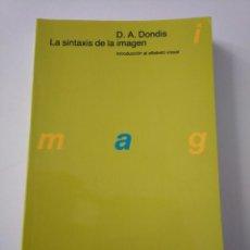 Livres d'occasion: LA SINTAXIS DE LA IMAGEN. D.A. DONDIS. Lote 244808225