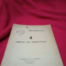 Libros de segunda mano: MUY INTERESANTE LIBRO DIBUJO DE PERSONAS.METODO DE DIBUJO A.B.C.. Lote 244993135
