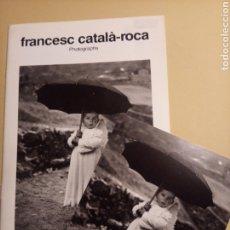 Libros de segunda mano: FRANCESC CATALÀ - ROCA PHOTOGRAPHS - SPANISH INSTITUT FUNDACIÓ MIRÓ 1987. Lote 245253330
