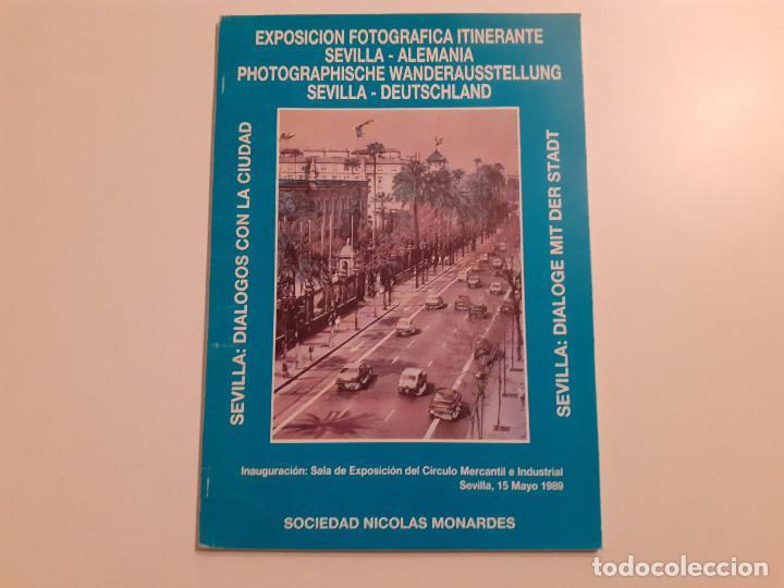 EXPOSICIÓN FOTOGRÁFICA ITINERANTE SEVILLA-ALEMANIA - SEVILLA: DIÁLOGOS CON LA CIUDAD (Libros de Segunda Mano - Bellas artes, ocio y coleccionismo - Diseño y Fotografía)