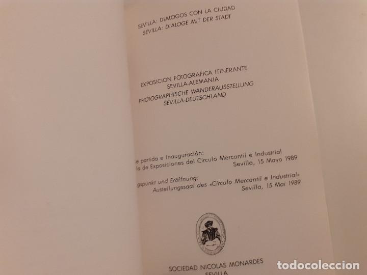 Libros de segunda mano: Exposición fotográfica itinerante Sevilla-Alemania - Sevilla: Diálogos con la ciudad - Foto 7 - 245352340