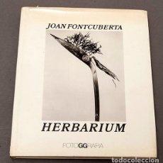Livres d'occasion: JOAN FONTCUBERTA - HERBARIUM. Lote 245391240