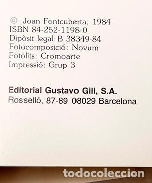 Libros de segunda mano: JOAN FONTCUBERTA - HERBARIUM - Foto 4 - 245391240