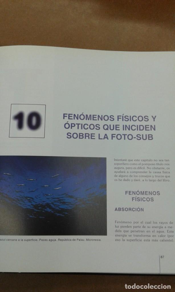 Libros de segunda mano: Manual de fotografia subacuatica por Carlos Virgili. Secretos de un campeon - Foto 3 - 245394435
