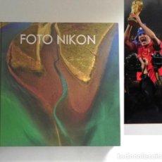 Libros de segunda mano: FOTO NIKON 10 - LIBRO DE FOTOGRAFÍAS - ARTE - FOTOS FOTOGRAFÍA DEPORTE - NATURALEZA FAMOSOS PAISAJES. Lote 245634110