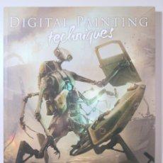 Libros de segunda mano: DIGITAL PAINTING TECHNIQUES. VOL. 4 - LONDON 2012 - MUY ILUSTRADO. Lote 245912355