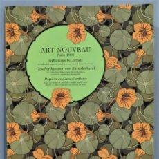 Libros de segunda mano: ART NOUVEAU. PARIS 1895. GIFTWRAPS BY ARTISTS. Lote 246174220