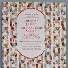 Libros de segunda mano: AMERICAN QUILTS. GIFTWRAPS BY ARTISTS. Lote 246174280
