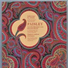 Libros de segunda mano: PAISLEY. GIFTWRAPS BY ARTISTS. Lote 246174325