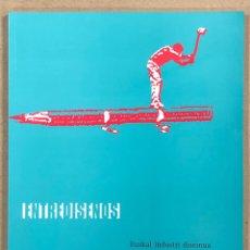 Libros de segunda mano: ENTREDISEÑOS, DISEÑÓ INDUSTRIAL VASCO - EUSKAL INDUSTRI DISEINUA. EDITA DIPUTACIÓN BIZKAIA 1996.. Lote 247742805