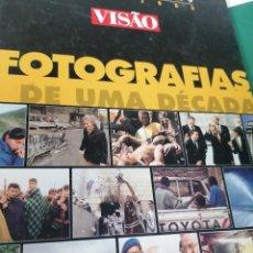 Livros em segunda mão: FOTOGRAFÍAS DE UMA DÉCADA. 1993-2003. VISAO. Lote 248226275
