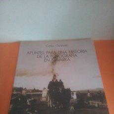 Libros de segunda mano: APUNTES PARA UNA HISTORIA DE LA FOTOGRAFÍA EN NAVARRA - CARLOS CÁNOVAS - PANORAMA Nº 13. Lote 248442560