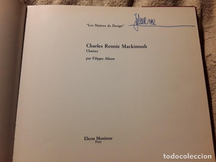 Libros de segunda mano: Charles Rennie Mackintosh. Filipo Alison. Les Maitres du Design. Electa. En frances - Foto 3 - 249237290