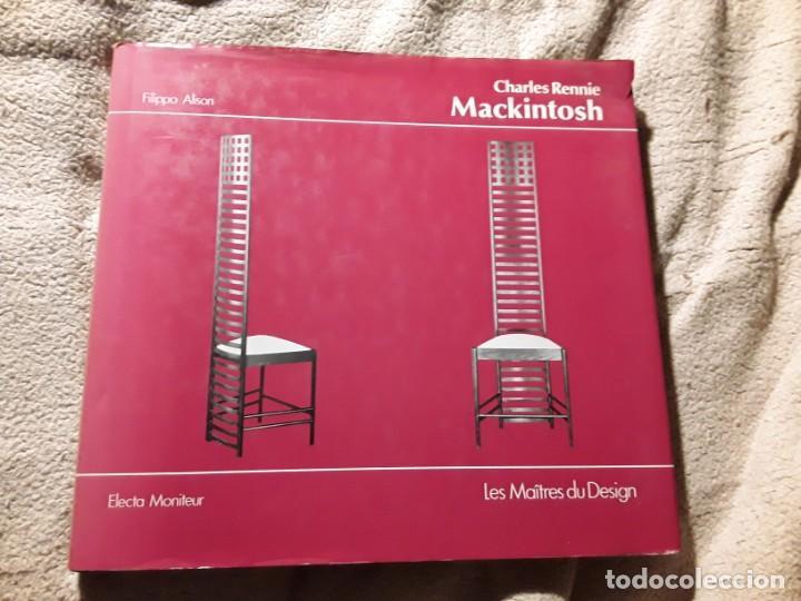 CHARLES RENNIE MACKINTOSH. FILIPO ALISON. LES MAITRES DU DESIGN. ELECTA. EN FRANCES (Libros de Segunda Mano - Bellas artes, ocio y coleccionismo - Diseño y Fotografía)