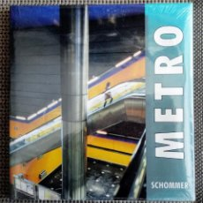 Libros de segunda mano: LIBRO FOTOGRAFÍA METRO (DE MADRID) POR ALBERTO SCHOMMER. NUEVO. PRECINTADO.. Lote 252772555