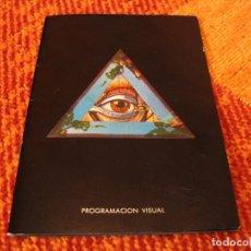 Livres d'occasion: AMÉRICA SÁNCHEZ ANTONI SELLÉS MINI CATÁLOGO 15X10 PROGRAMACIÓN VISUAL 1980. Lote 253129060