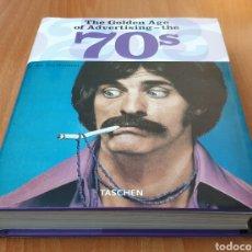 Libros de segunda mano: LIBRO THE GOLDEN AGE OF ADVERTISING 70S (TASCHEN, 2006). Lote 254642585