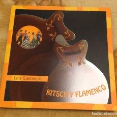 Libros de segunda mano: KITSCH Y FLAMENCO LIBRO DESCATALOGADO. Lote 240332310