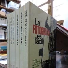 Livres d'occasion: LA FOTOGRAFÍA ES FÁCIL. TOMOS DEL I AL VI. EDICIONES AFHA 1976. Lote 257405635