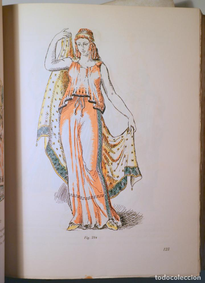 Libros de segunda mano: DALMAU, R. - SOLER JANER, J.Mª - MESTRES, C. - HISTORIA DEL TRAJE (2 vol. Completo) - Barcelona 1946 - Foto 3 - 260856080