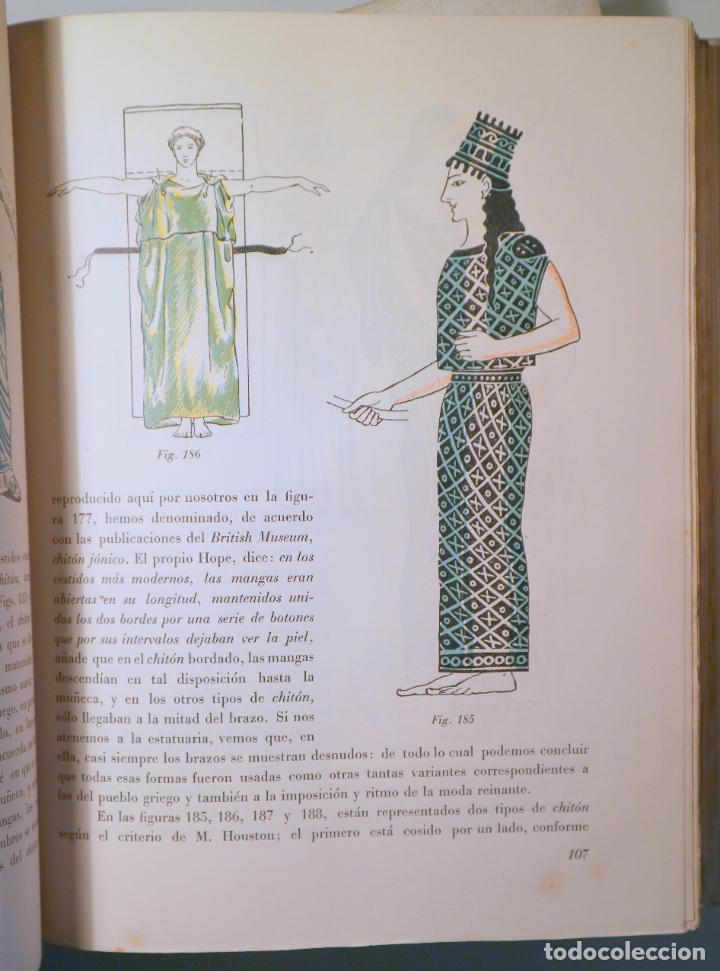 Libros de segunda mano: DALMAU, R. - SOLER JANER, J.Mª - MESTRES, C. - HISTORIA DEL TRAJE (2 vol. Completo) - Barcelona 1946 - Foto 4 - 260856080