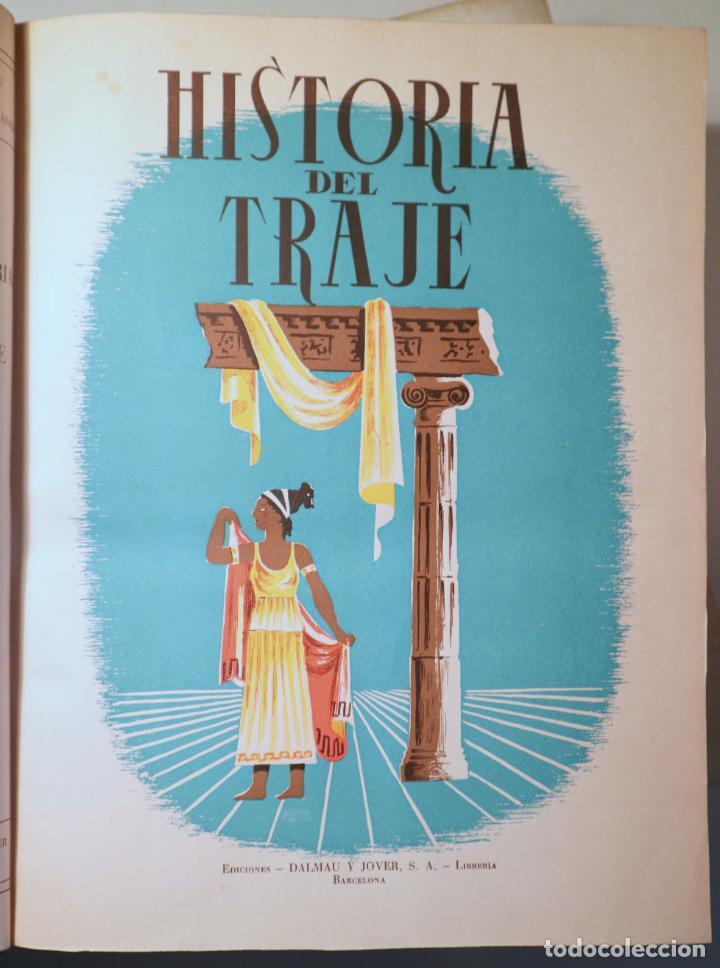 DALMAU, R. - SOLER JANER, J.Mª - MESTRES, C. - HISTORIA DEL TRAJE (2 VOL. COMPLETO) - BARCELONA 1946 (Libros de Segunda Mano - Bellas artes, ocio y coleccionismo - Diseño y Fotografía)