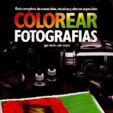 Livres d'occasion: COLOREAR FOTOGRAFIAS, V.V.A.A. FT-178. Lote 261115170